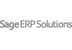 Logo Grayscale: Sage ERP Solutions