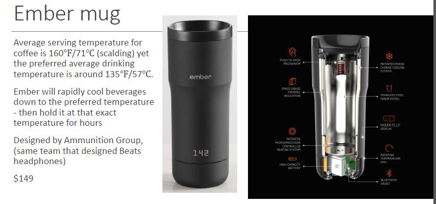 Ember mug technology