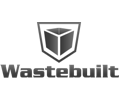 "Logo Grayscale: Wastebuilt"" loading=""lazy"