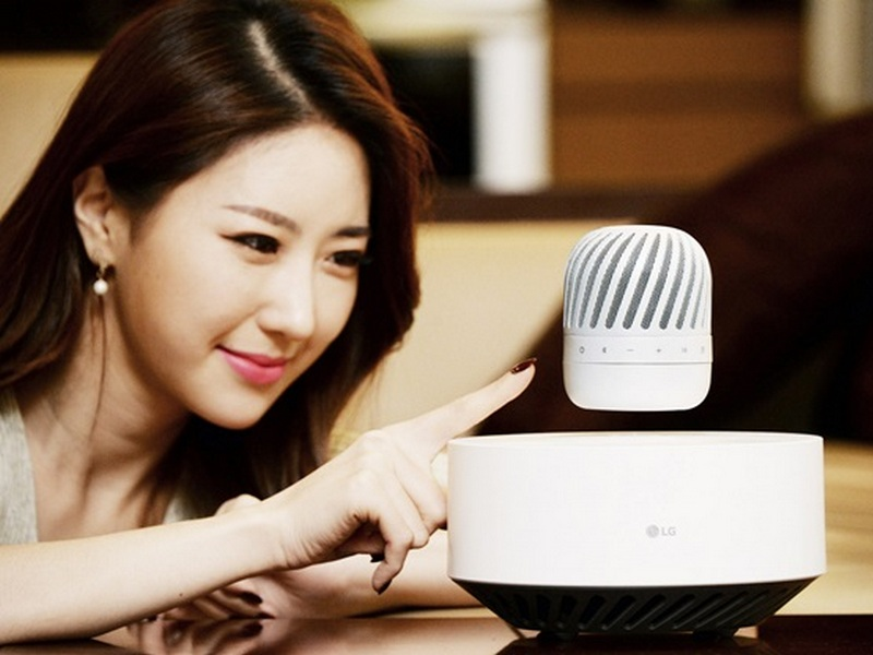 Floating Speaker Tech
