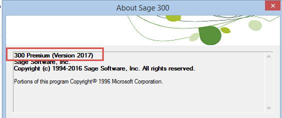 Sage300Version