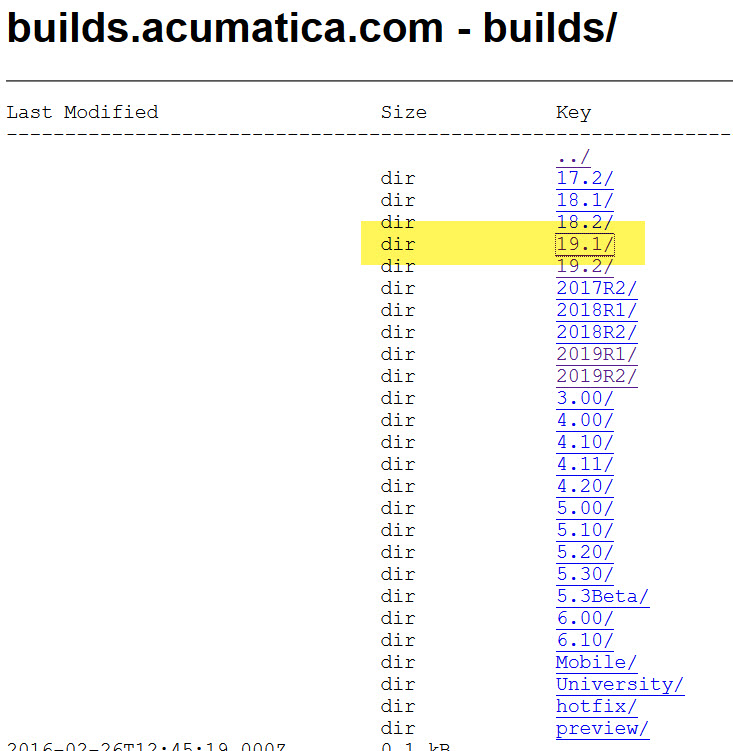 Acumatica Report Designer builds