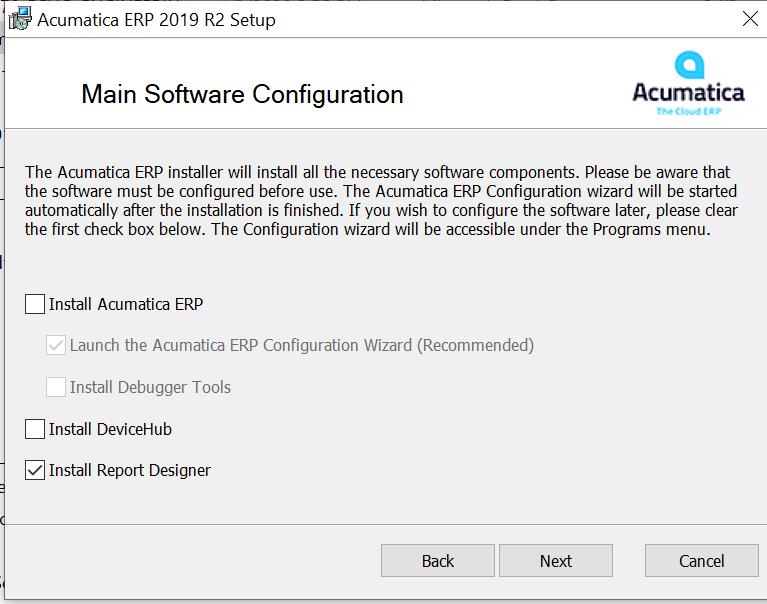 Acumatica Report Designer Download
