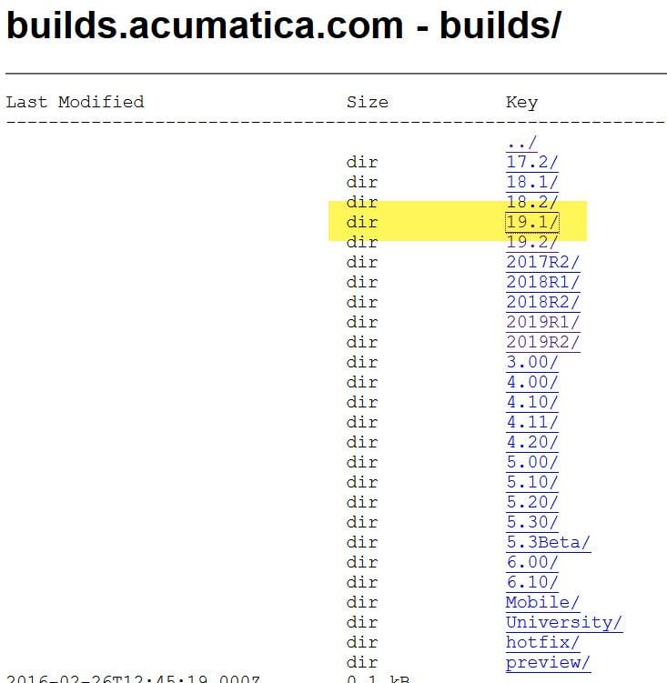 Acumatica Report Designer builds