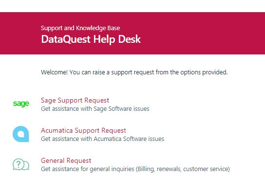 Support Desk for Sage and Acumatica